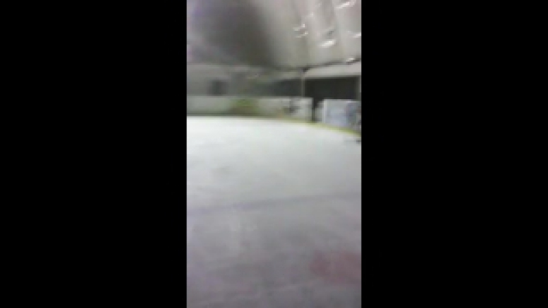 я на ковзанах