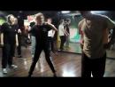 Электр-ночь в студии LBE 18-11-17 часть 6. Дружеский батл вторая половина Дима vs Катя 2 раунд