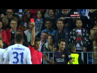 Малага - Барселона 2:0. Обзор матча. Ла Лига 2016/17. 31 тур.