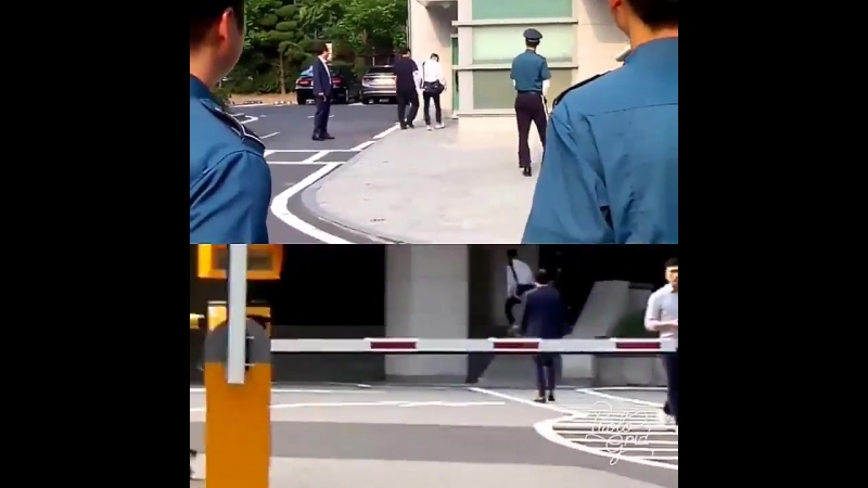170713 Донхэ возле полицейского участка 1