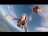 Прыжок с парашютом с воздушного шара @anastasia_kornilova96