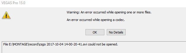Windows 10 don't see codec pack OIjXvWaa76s