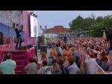 Большой вокал на главной сцене празднования 430-летия Тобольска. Горожан приветствует