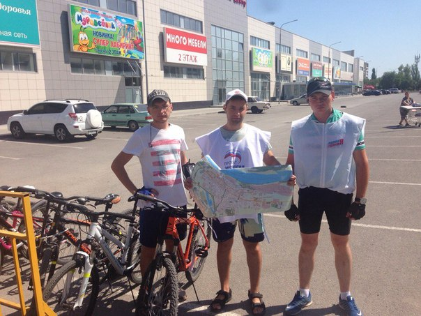 #Волгоград #Центр  Общий пробег велопатруля около 1000 километров горо