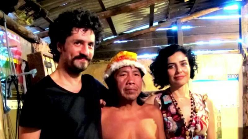 Aldeia Maracanã recebe casal de atores Letícia e Fernando Alves Pinto