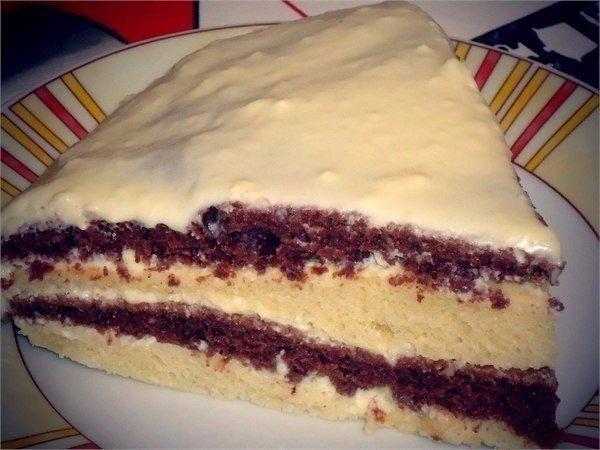Лёгкий и вкусный тортик на кефире Очень вкусный! [club59415411|читать