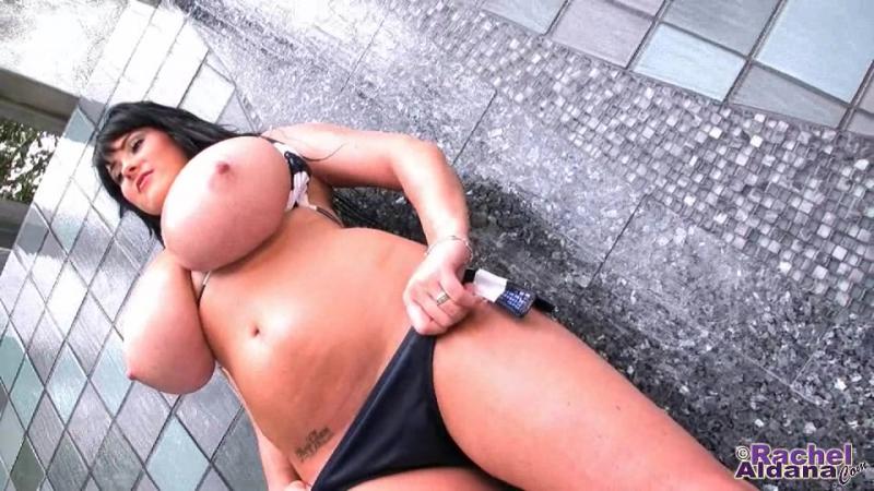 Rachel Aldana - Bikini Water Fall 1 [Big Tits, Ass, Busty, Model, Whore, Slut, Сиськи, Дойки, Задницы, Попки, Шлюхи, Эротика]
