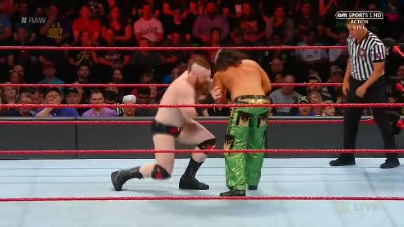 [Crossface] Шеймус против Мэтта Харди - RAW 22.05.2017
