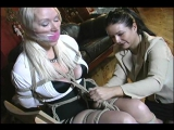 Blond haired, blue eyed, 40 something milf, her first time in bondage!!FULL