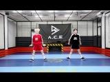 C2C - Happy Dance practice (by Wow &amp Jason)