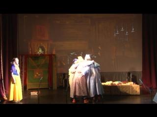 образцовый самодеятельный театральный коллектив «Ровесник» - Отрывок из спектакля «Белоснежка и 7 гномов»