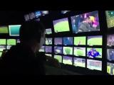 Работа режиссёра на прямой трансляции футбольного матча