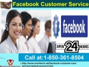 Facebook Customer Service 1-850-361-8504– A Quick action to Your Problems