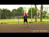 Тренировка для папы с ребенком #1- Школьный стадион. Workout for dad with child #1- School stadium