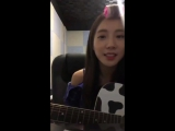 170907 SoYoungs Instagram Live 01 Fit Mobile Screen Without Chat Version