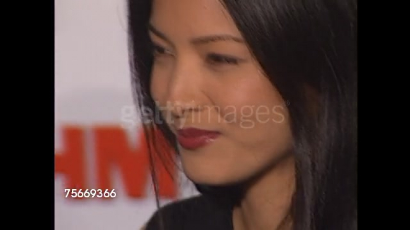 Kelly Hu at the FHM Magazine 100 Sexiest Women at La Boheme in West Hollywood, California on May 17, 2001.