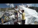 Производство и установка парусов на яхте — урок яхтинга 4