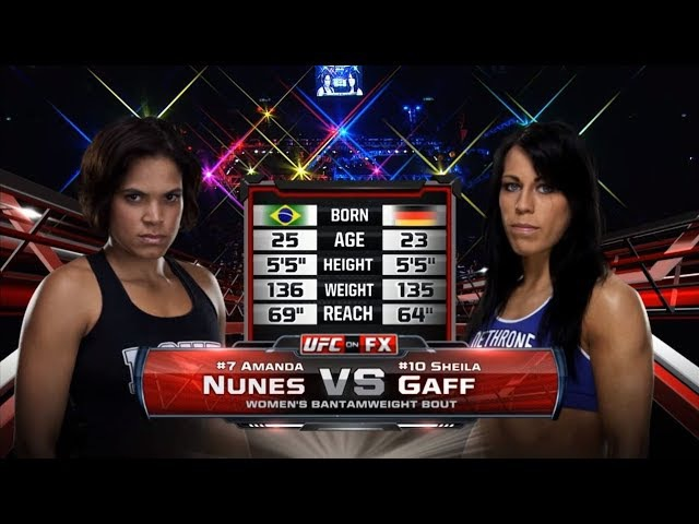 UFC 215 Free Fight: Amanda Nunes vs Sheila Gaff
