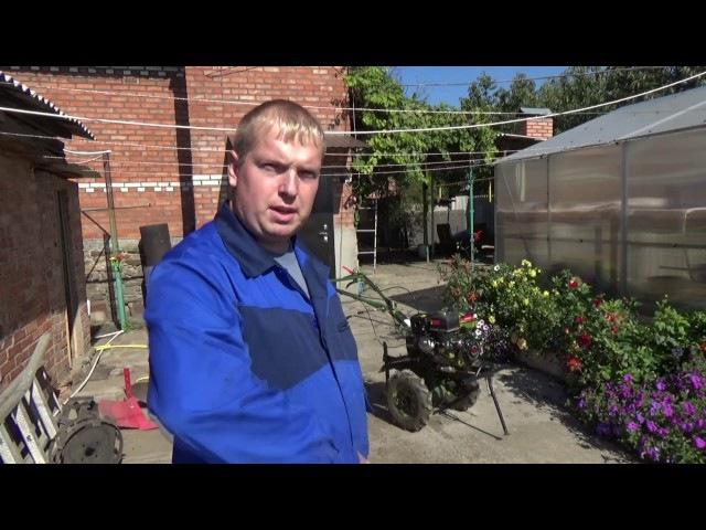 Мотоблок ДОН XS980 мотоблок Дон обзор и ТО