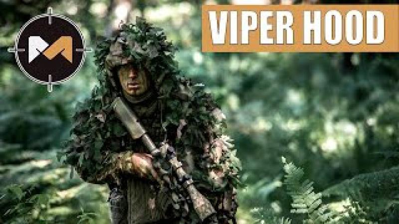 Снайперская накидка Вайперхуд двусторонний. Sniper Viper Hood.