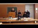 ОГУВД (ОДУВС) курсанты проводят постановку судебного заседания