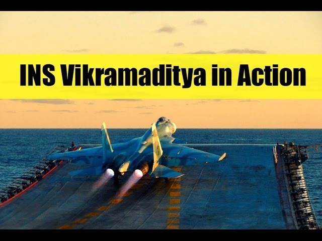 Indian Navy | INS Vikramaditya In Action - 2018