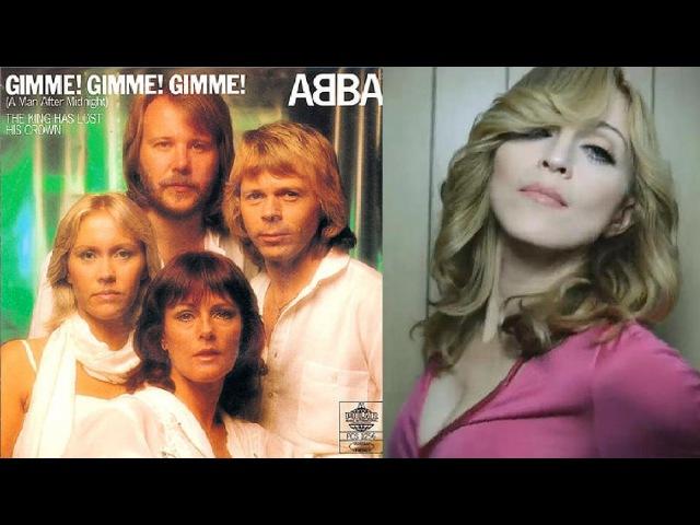 ABBA vs. Madonna - Gimme! Gimme! Gimme! (1980) - Hung up (2005)