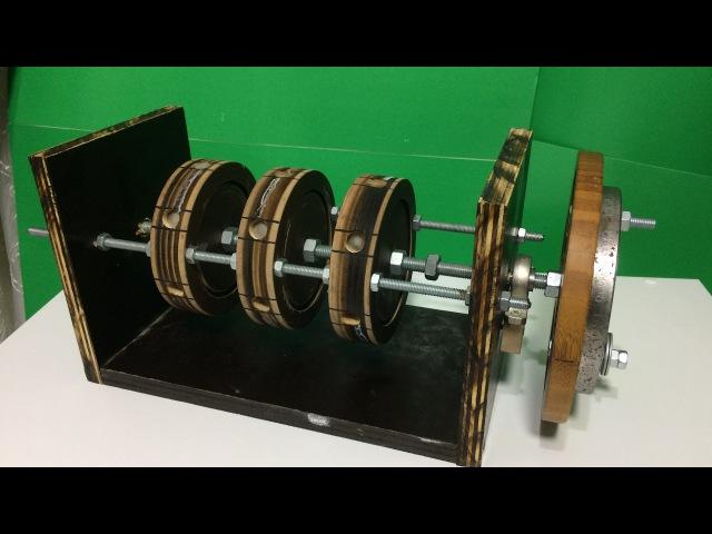 Free energy generator, magnet motor yapımı