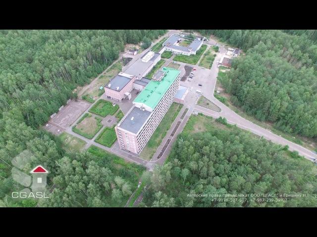 Аэросъемка санатория Кленовая гора