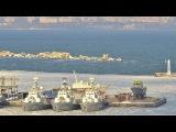 Вести.Ru Все несколько кораблей украинского флота вмерзли в лед у Одессы