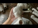 Кукла из фарфора: процесс создания