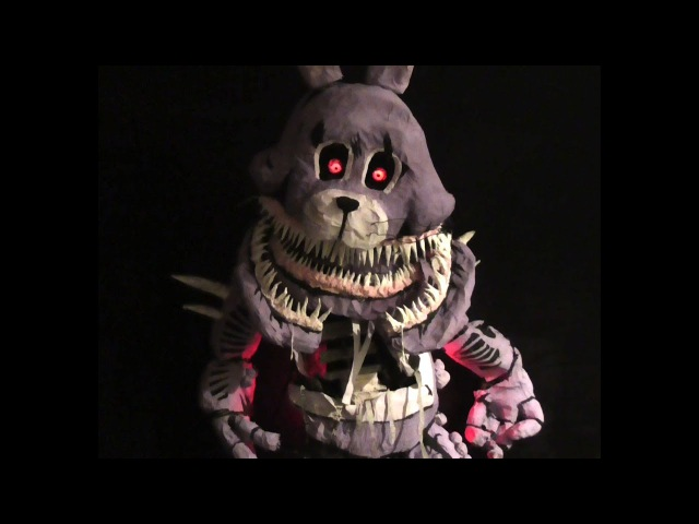Five Nights at Freddy's: The Twisted Ones : Twisted Bonnie Real 6ft Model / Prop