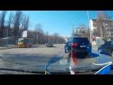 Acura MDX и неадекватный водитель