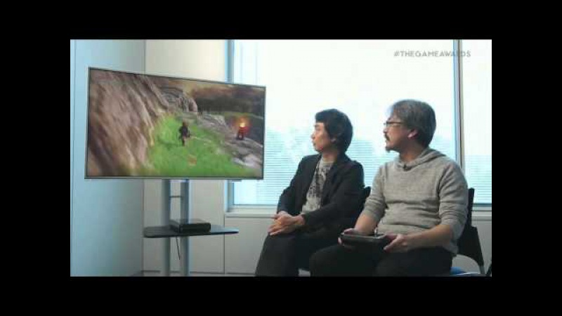 Zelda Wii U Gameplay Trailer Video Game Awards 2014 (VGX)