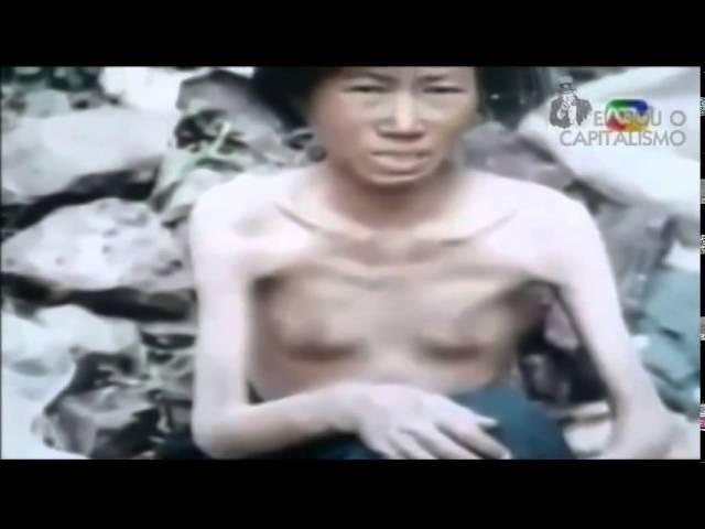 Norte coreanos praticando canibalismo para sobreviver - É O GENOCÍDIO COMUNISTA PELA FOME