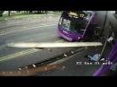 Сбитый автобусом британец поднялся и пошёл в паб