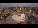 Строительство Little Caesars Arena, г. Детройт, США (08.2017)