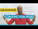 English Grammar: Correlative Conjunctions (NEITHER NOR, EITHER OR, BOTH AND...)