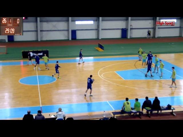 Гандбол. Чемпіонат України «СУМДУ» 25—26 «ДИНАМО-ПОЛТАВА»| HighSportLive | HSL 04.02.2017