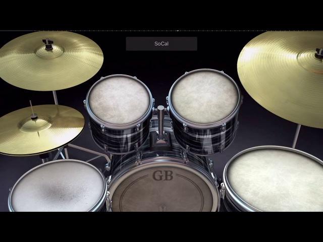 Ария Воля и Разум GarageBand (drum cover)