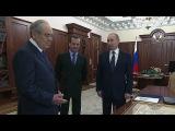 Владимир Путин принял Минтимера Шаймиева, который вэти дни отмечает 80-летний юбилей