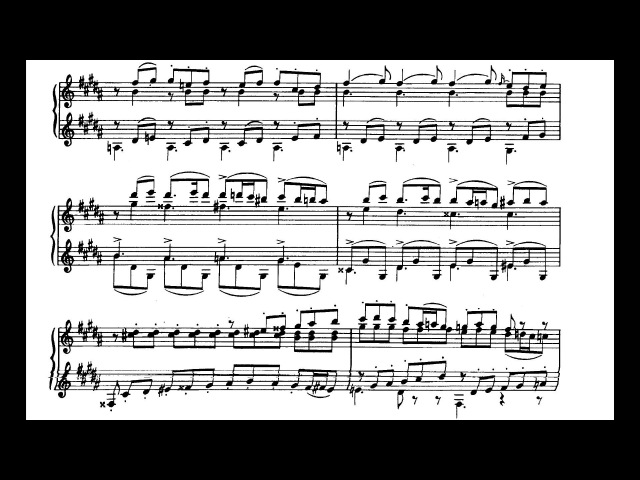Alexander Borodin ‒ Scherzo in A-flat major