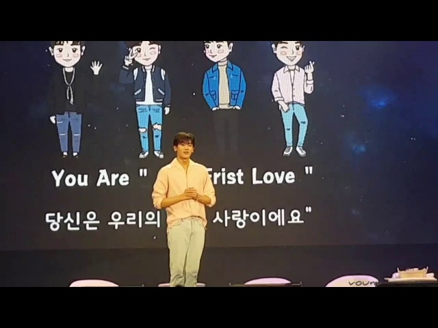 [Fancam] 170806 Park Hyungsik First Love in BKK : Photo time!!