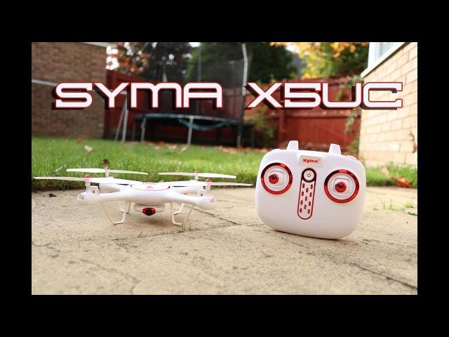 Syma X5UC Quadcopter Setup and Flight Test