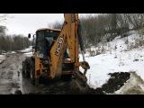 Дорожные работы, реконструкция улицы  г. Серпухов