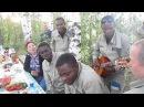 Поют курсанты-летчики из Конго