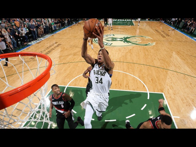 Portland Trail Blazers @ Milwaukee Bucks - October 21, 2017 - Recap
