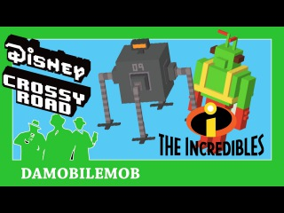 ★ DISNEY CROSSY ROAD Secret Characters | Omnidroid and Twitch (Toy Story) | The Incredibles Update