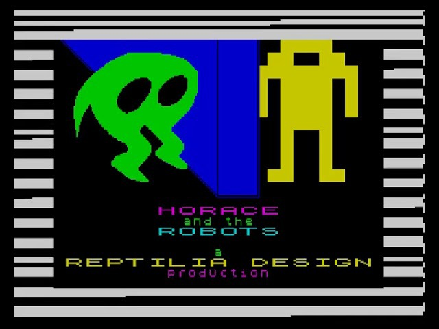Exclusive!! - Horace and The Robots - ZX Spectrum