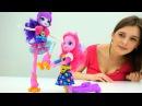 Видео для детей Девочки из Эквестрии Пинки Пай ищет Ратити Куклы Эквестрия Гё